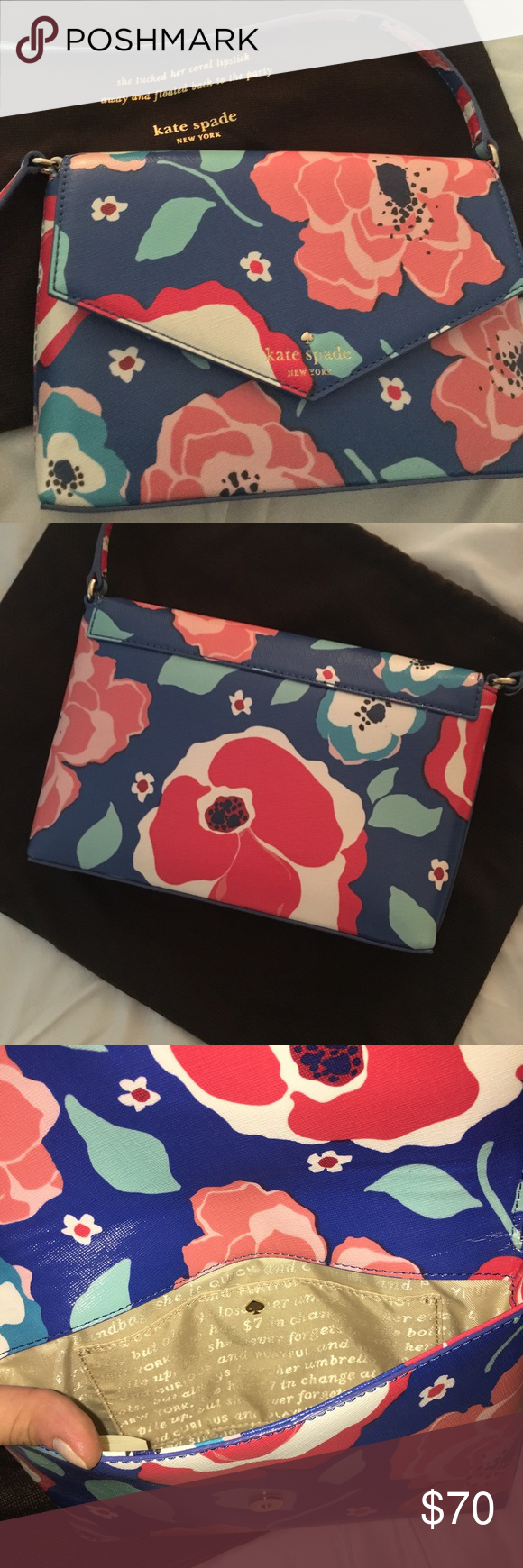 Kate Spade Small Crossbody Brand new, with adorable dust ...
