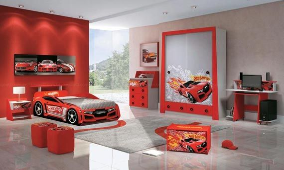 Awesome Cartoon Bedroom Design Ideas For Kids HomeArchitecture - Car themed bedrooms
