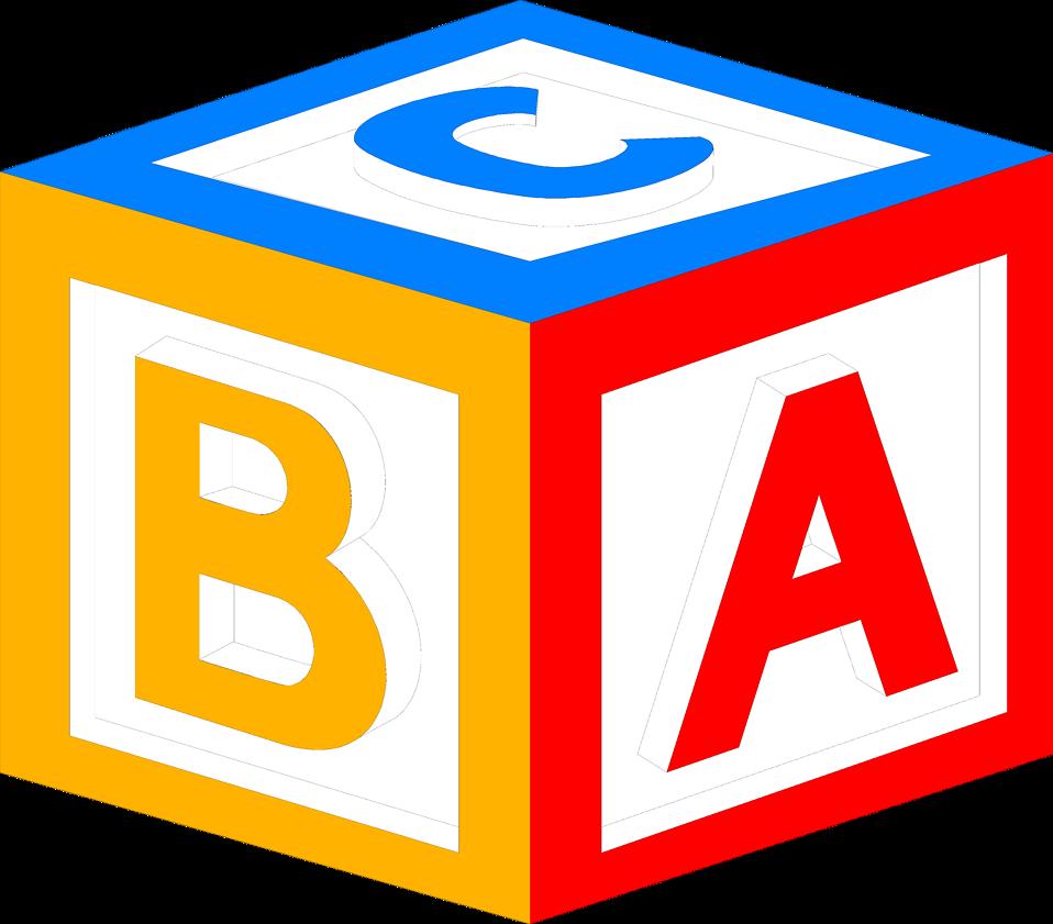 Baby Block Alphabet Letters Clipart - Free Clip Art Images