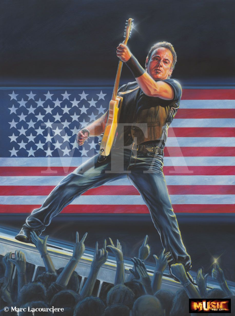 BORN IN AMERICA BRUCE SPRINGSTEEN® First thing that comes