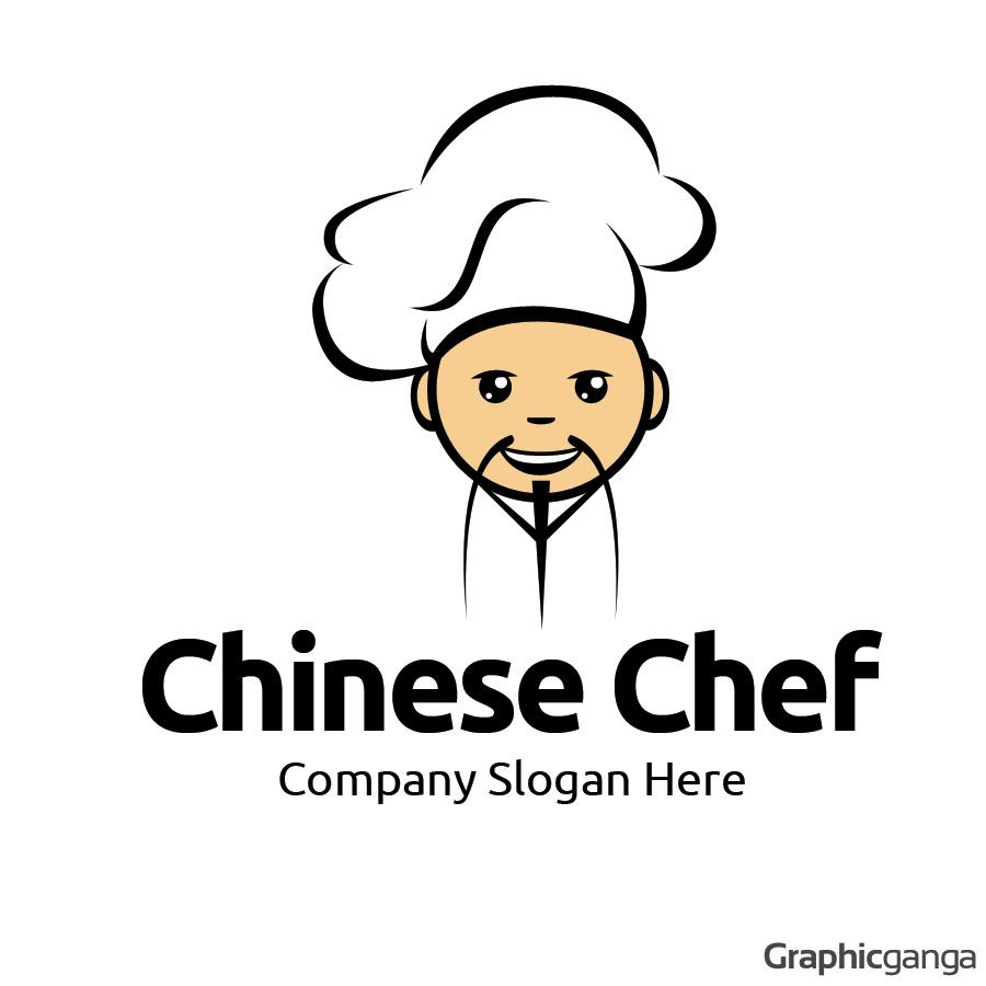 chinese chef logo template logos ����