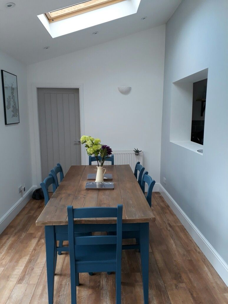 Table and chairs from Eastburn Furniture painted with farrow and ...