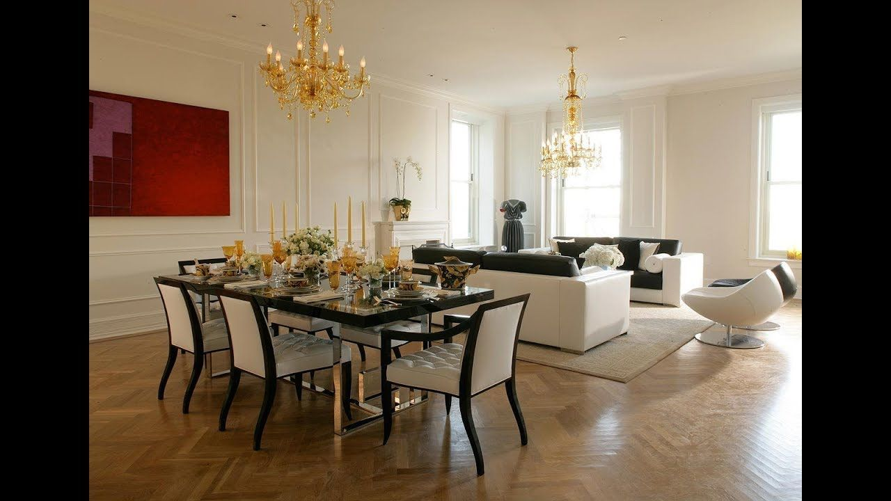 Modern Living Room Dining Room Combo Decorating Ideas 2019 Youtube Living Room Dining Room Combo Contemporary Dining Room Decor Dining Room Design