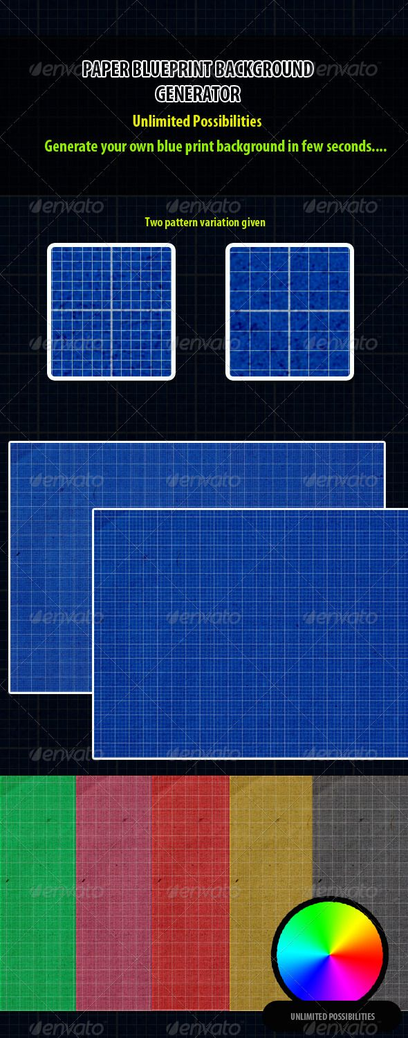 Paper blueprint background generator backgrounds wallpapers a great stuff for generating paper blueprint backgrounds make any colored blue print background and use it in your p malvernweather Image collections