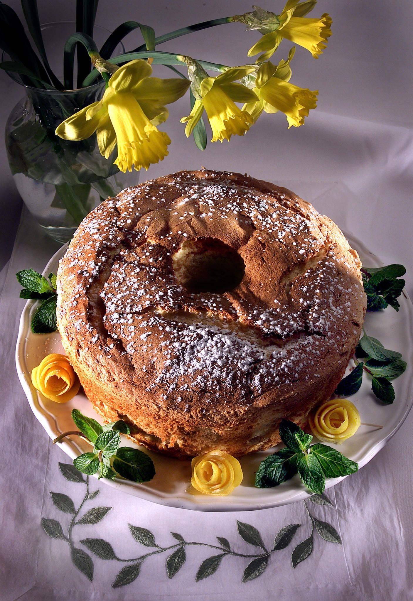 Carole walters passover lemon chiffon cake recipe in