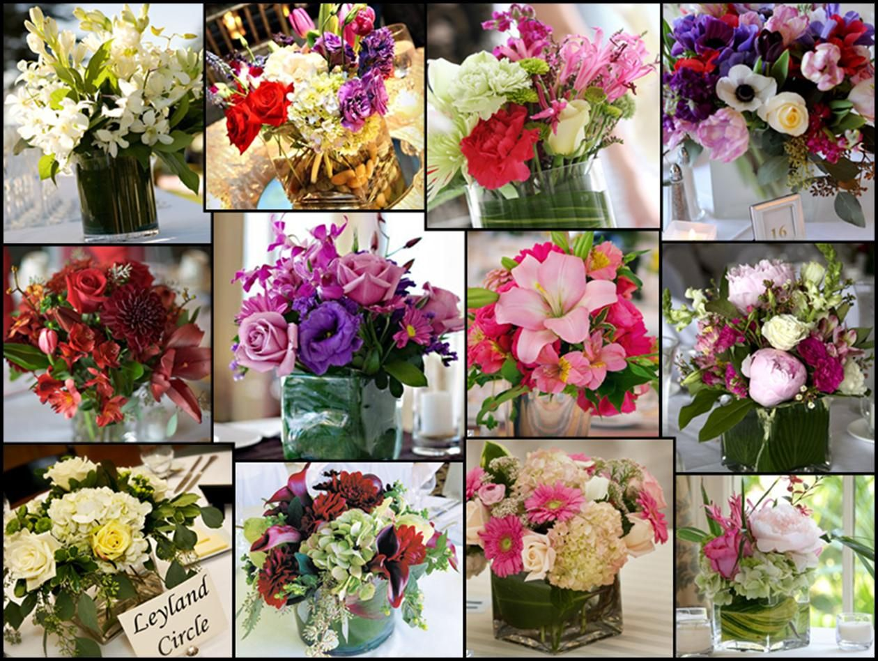 centerpieces for wedding tables wedding flowers table