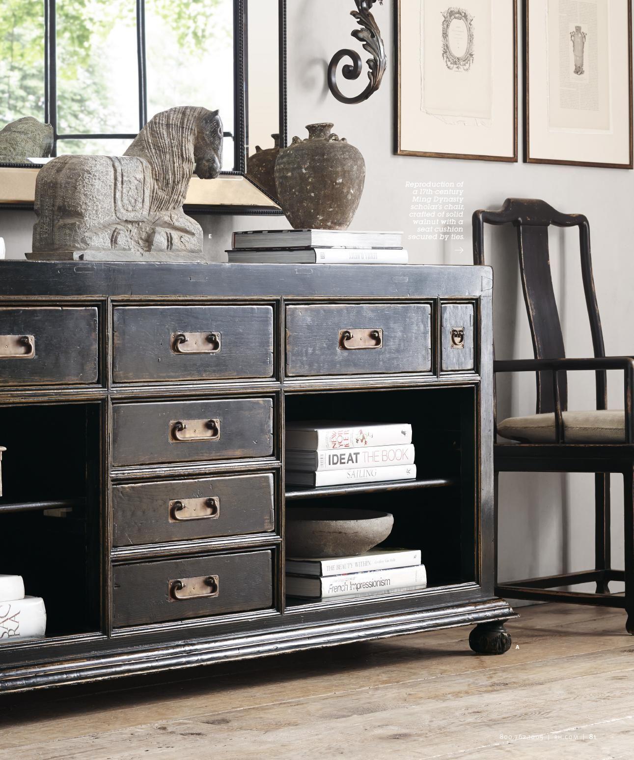 Rh Source Books Barn Living Restoration Hardware New Homes Dresser Dining Room