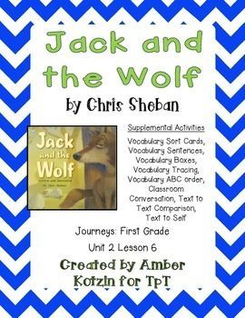 Jack and the Wolf Supplemental Activities 1st Grade Journeys Unit 2