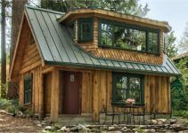 Beautiful Log Cabin With Unique Interior #logcabinhomes