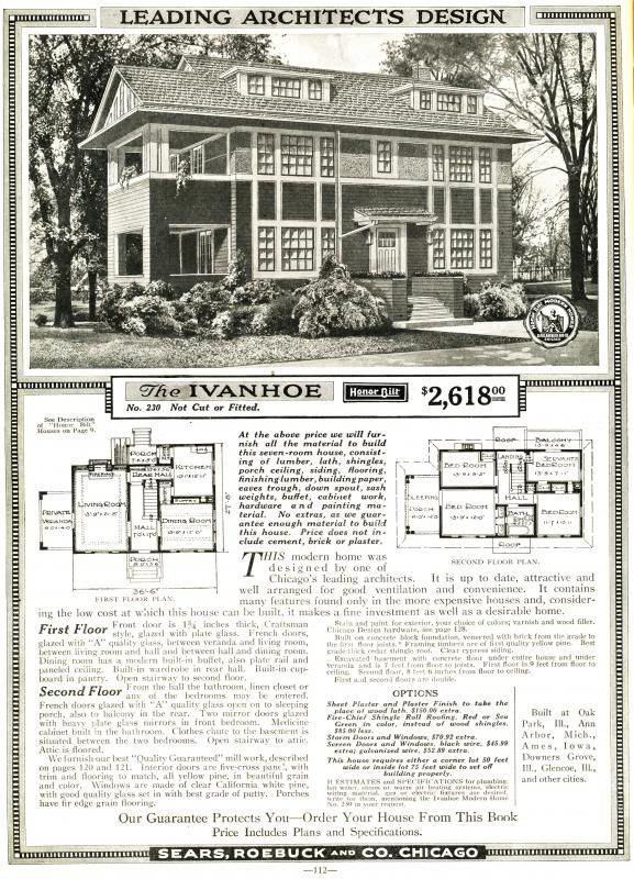 2013 May Sears Modern Homes Vintage House Plans Modern House Kit Homes