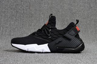 44077b66e81c Durable Nike Air Huarache Drift Prm Flyknit Black White Red Men s Footwear  Running Shoes