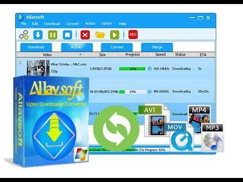 Allavsoft Video Downloader Converter 3 14 0 6275 Setup Keygen