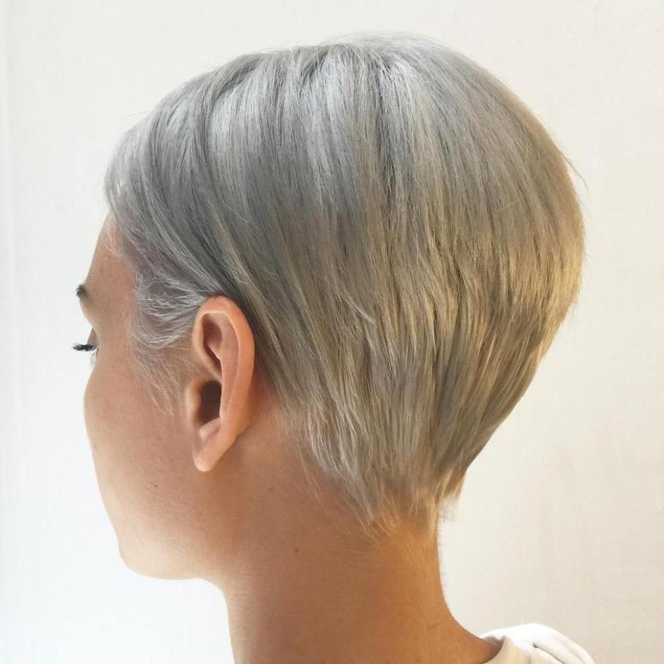 mindblowing short hairstyles for fine hair ash blonde pixies