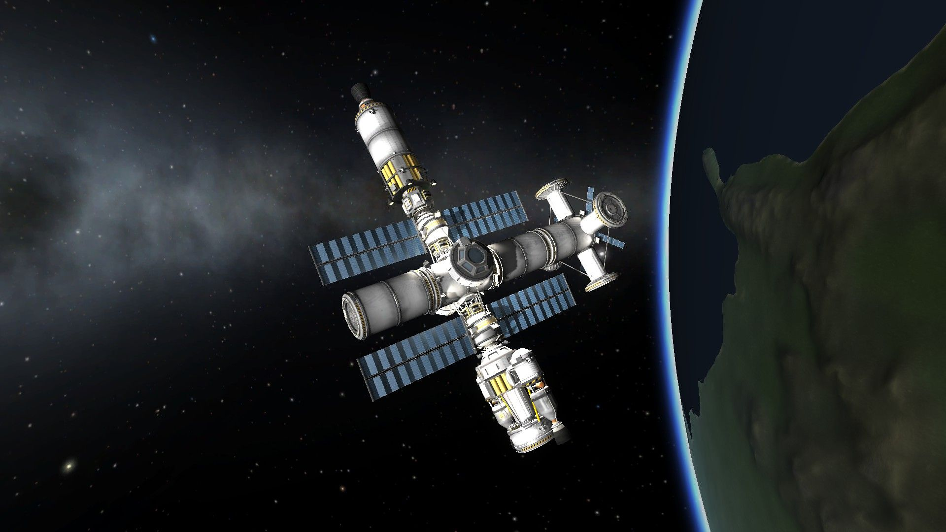 A space station. (With images)   Kerbal space program ...