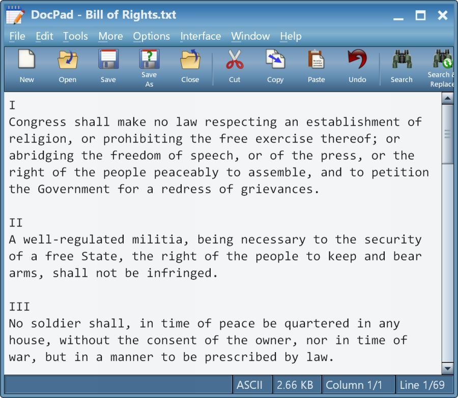 DocPad v22.0 A free replacement for Windows Notepad with
