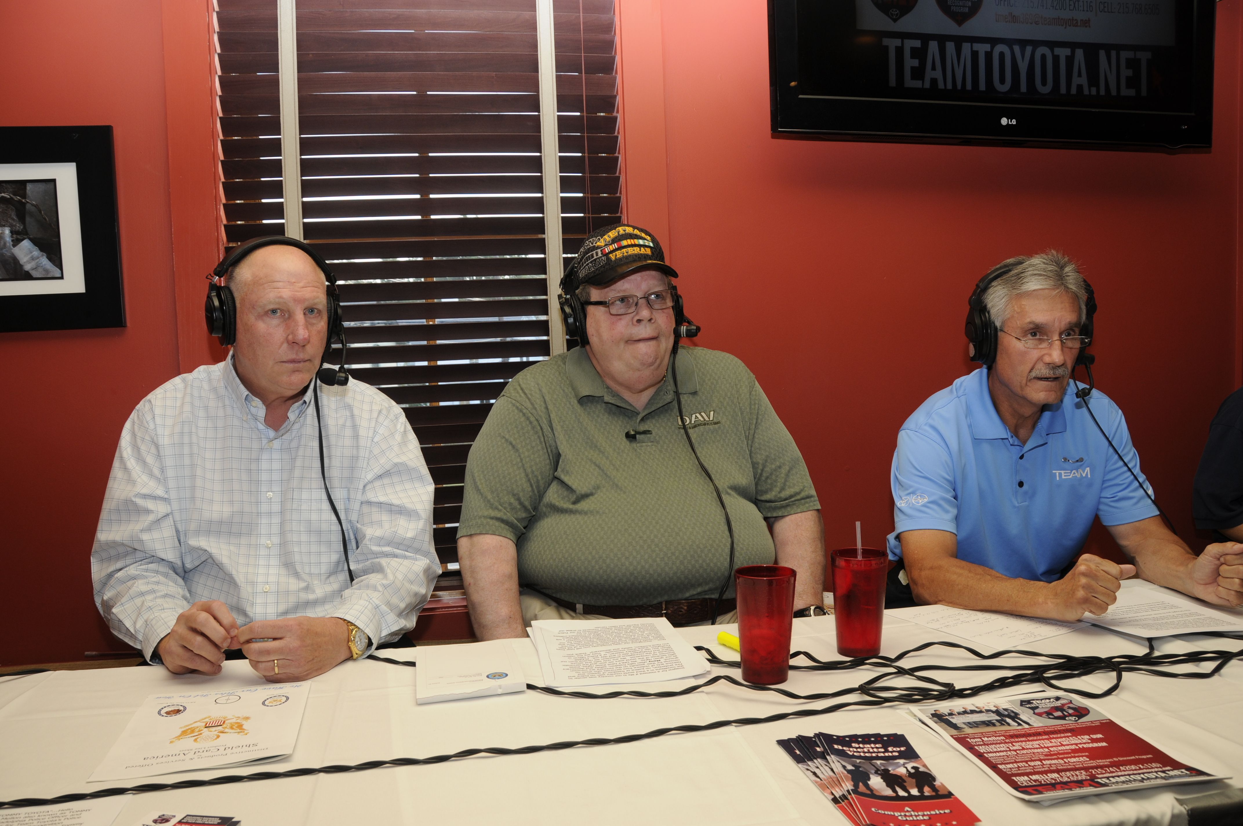 Going Places With Tommy Toyota Radio Show With Paul Muller Owner Team  Toyota Langhorne Princeton Glens Mills PA Frank Duffner, Retired Customs  Officer ...