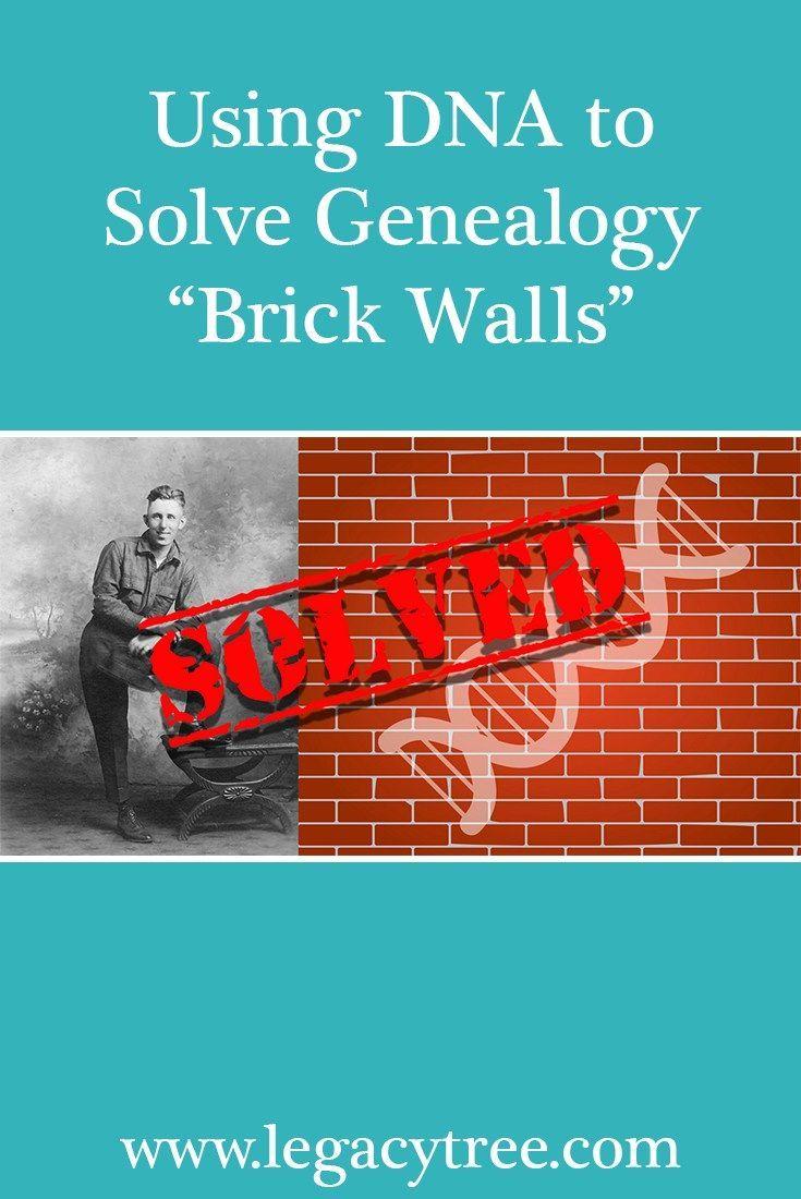 Using DNA to Solve Genealogy Brick Walls #ancestors