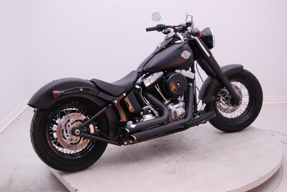 2013 Harley Davidson Softail Softail Slim Fls 103 Black Denim L3872a Classic Harley Davidson Harley Davidson Softail