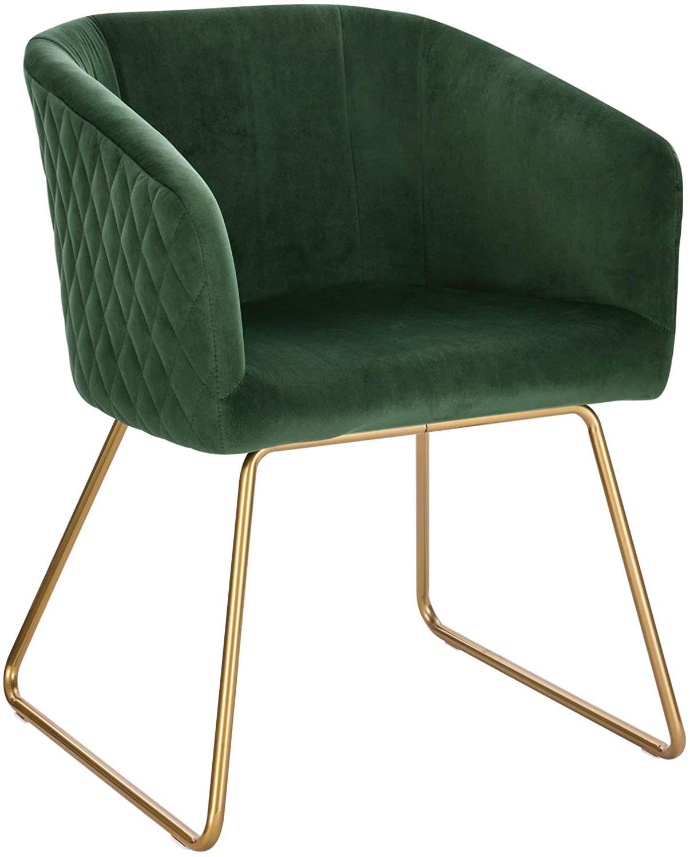 Woltu 1 Chaise De Salle A Manger Chaise De Cuisine Chaise Salon En Velours Fauteuil Chaise Pieds En Chair Design Beautiful Chair Decor