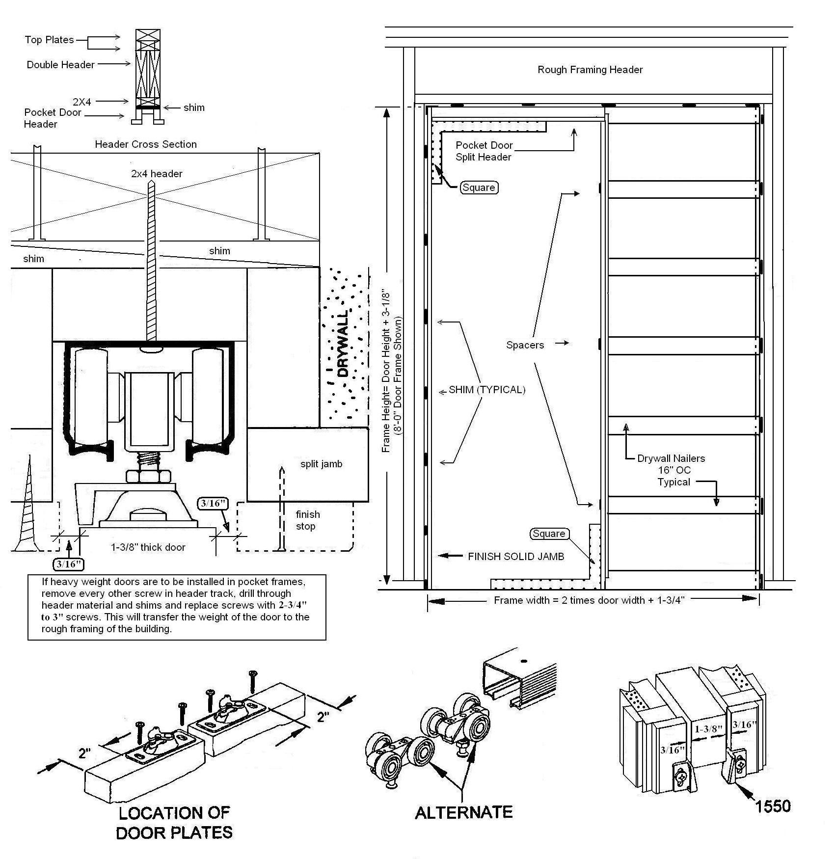 Door Wood Diagram