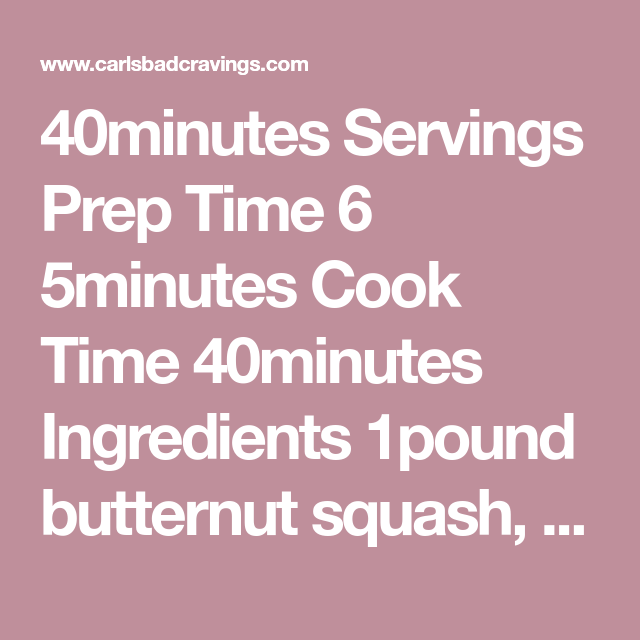 40minutes Servings Prep Time 6 5minutes Cook Time