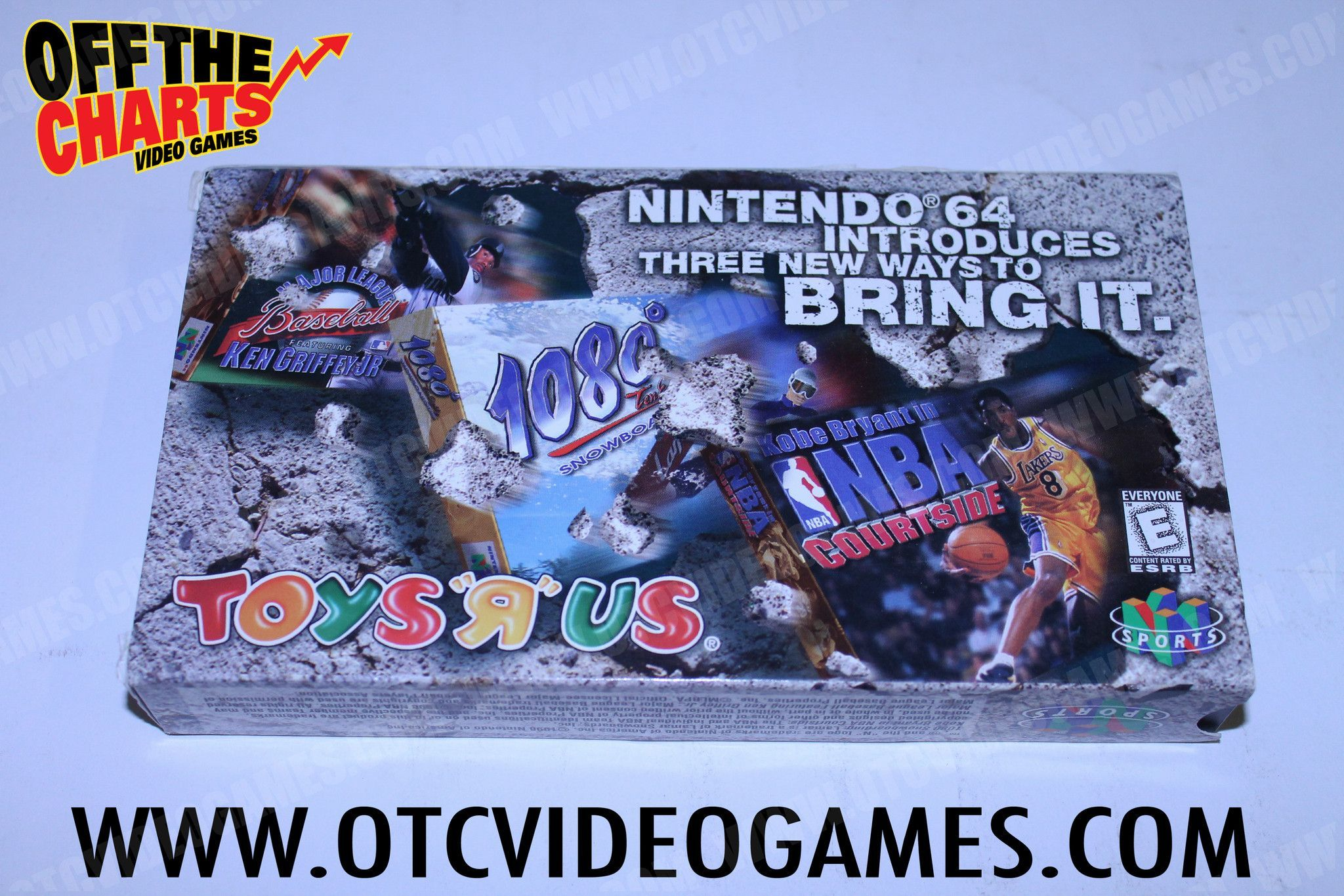 Toys R Us Promotional N64 Video
