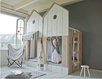 Etagenbett  - schlafzimmer einrichten mit babybett