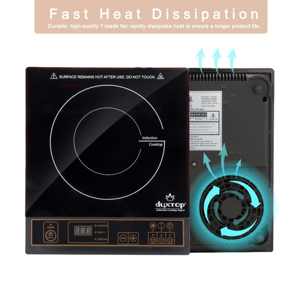 Duxtop 8100mc 1800w Portable Induction Cooktop Countertop Burner Continue To The Product At The Image Link Th In 2020 Induction Cooktop Induction Stove Induction