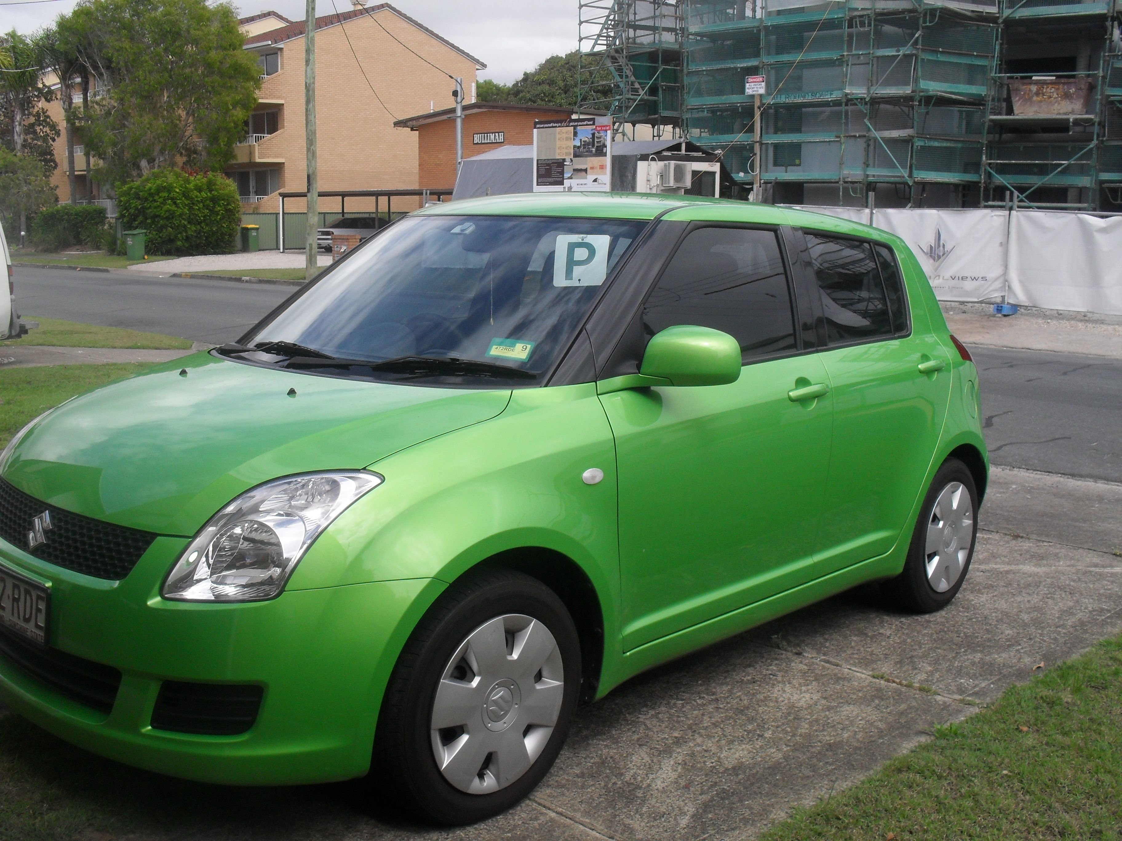 Suzuki Swift 3 Midori Green Suzuki Swift Suzuki Green