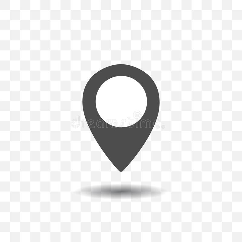 Map Location Pointer Icon On Transparent Background Map Pin For Target Or Desti Affiliate Icon Transparent Pointer Pin Map Transparent Background Map