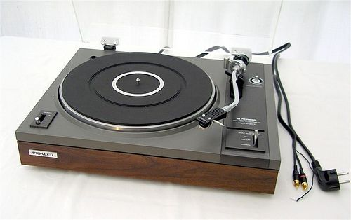 My old turntable from the seventies - still working great today. Can't beat listening to the fantastic sound of vinyl!!