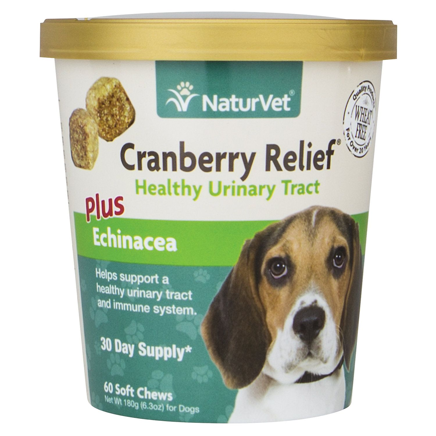Naturvet Cranberry Relief Healthy Urinary Tract Dog Soft Chews Pack Of 60 Chews In 2020 Cranberry Dog Uti Pet Supplements