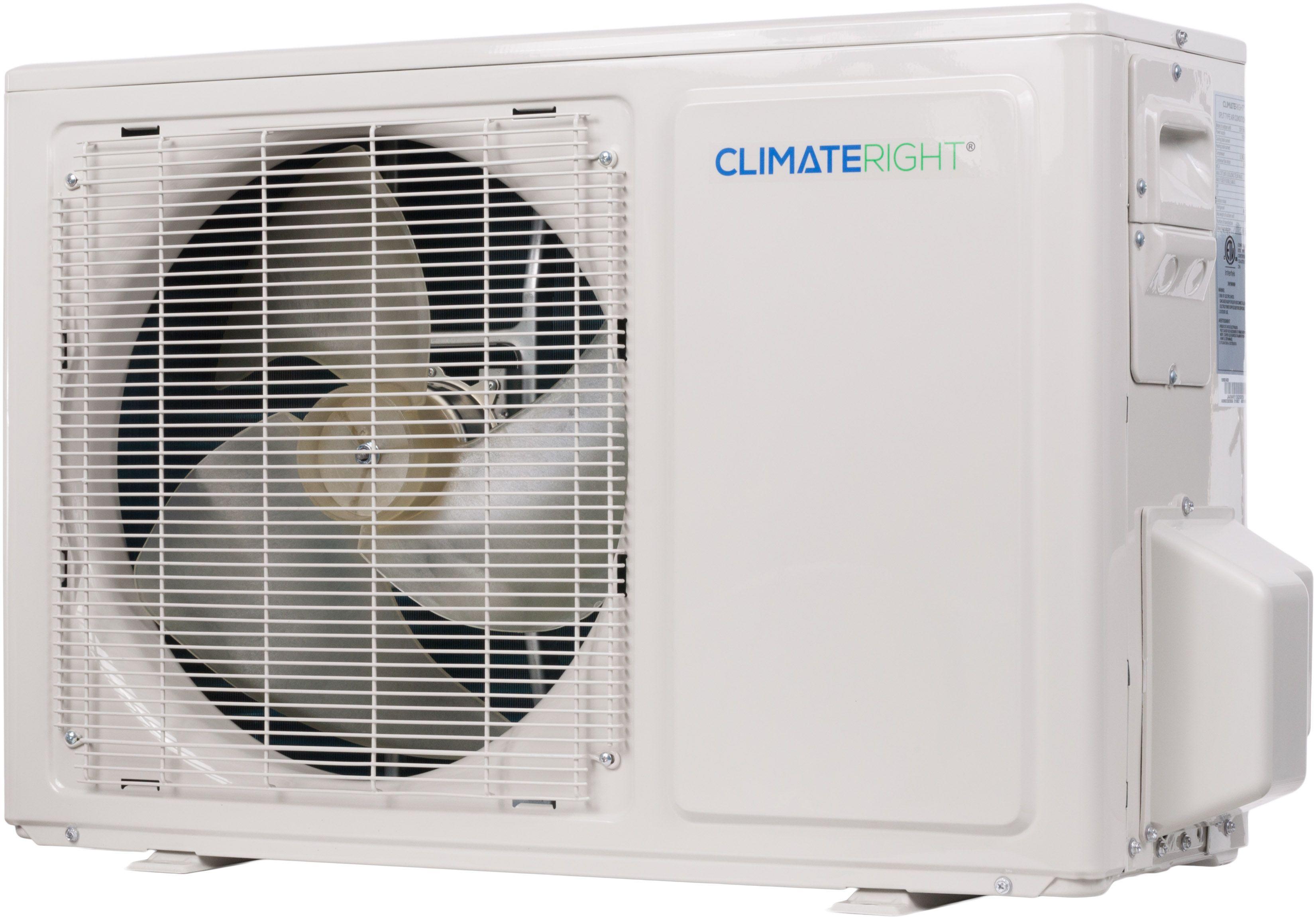 Climateright 4000 to 120000 btu quick connect diy mini