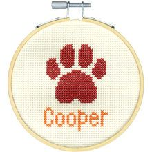 Photo of Dimensions® Counted Cross Stitch Kit, Paw Print