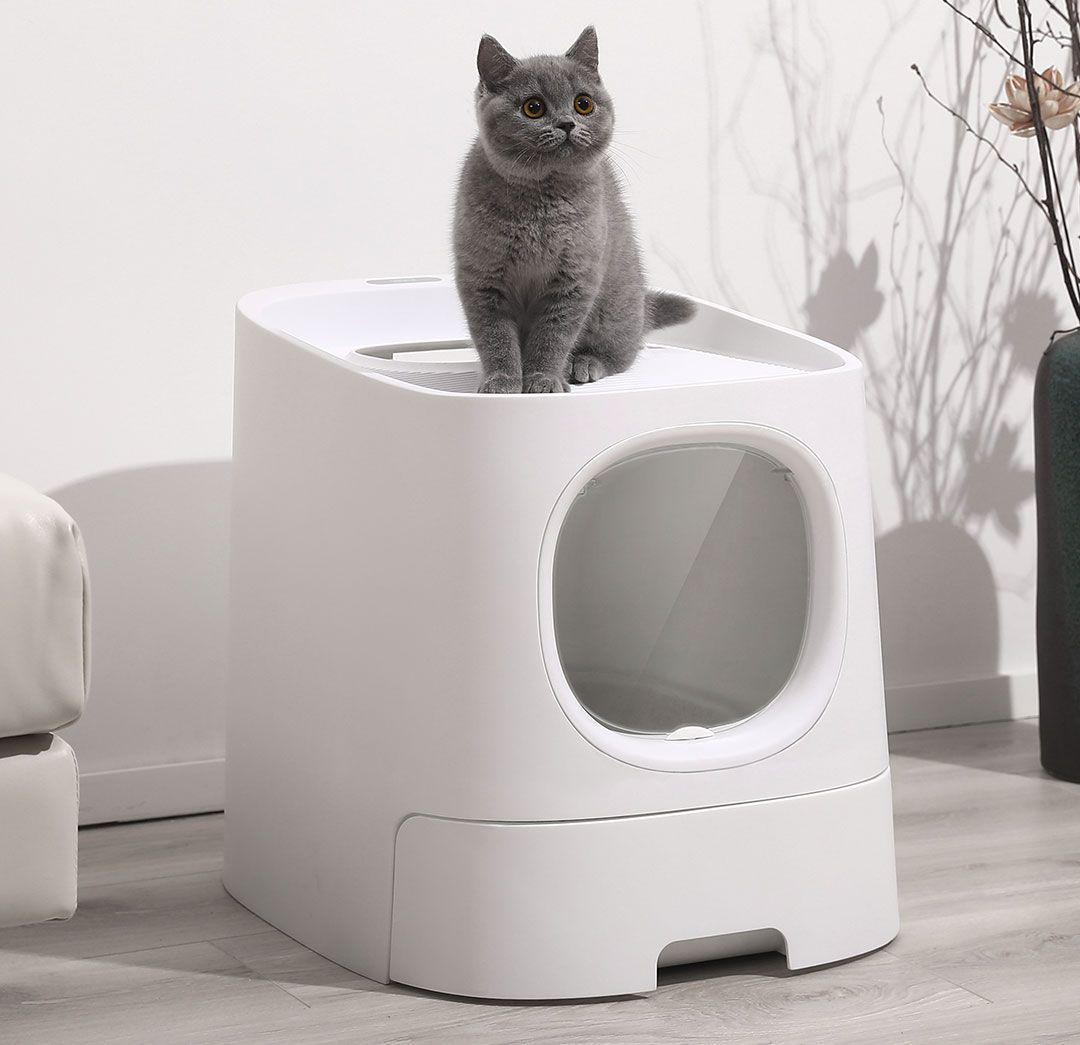 Xiaomi Lanza Un Bano Para Gatos Inteligente Bano Para Gatos