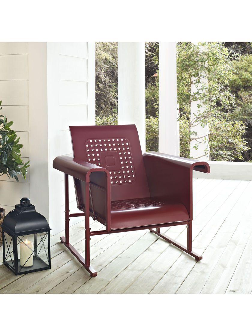 Glider Chair Veranda Glider Chair Gardeners Com Patio Rocking Chairs Glider Chair Patio Chairs