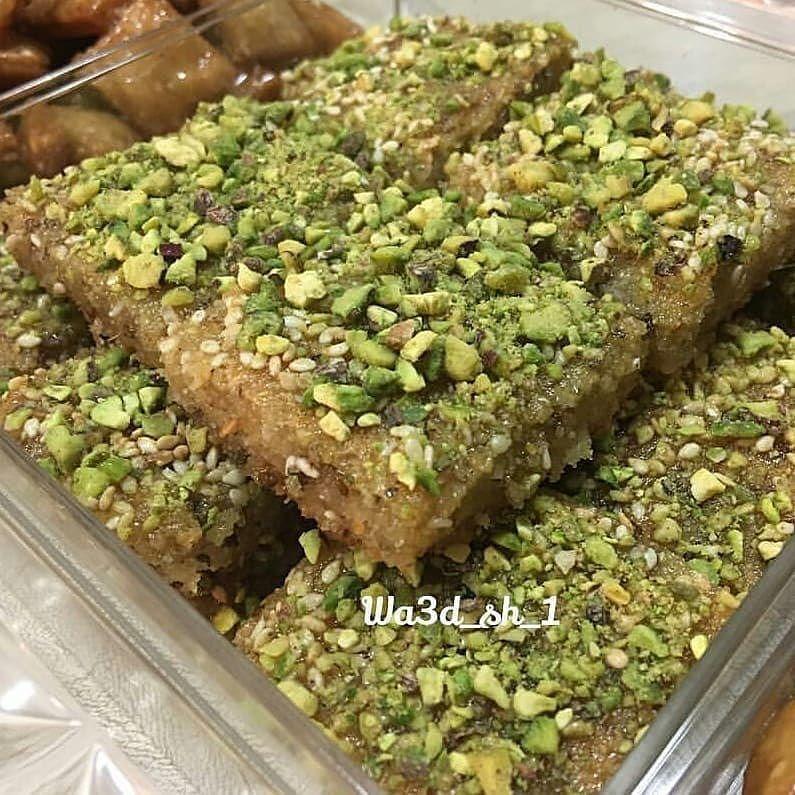 Chef Aseel On Instagram يانسونية من حساب الجميله Wa3d Sh 1 حلى لذيذ قريب طعمه للبسبوسة بنكهة اليانسون ٢ ك Dessert Recipes Recipes Food