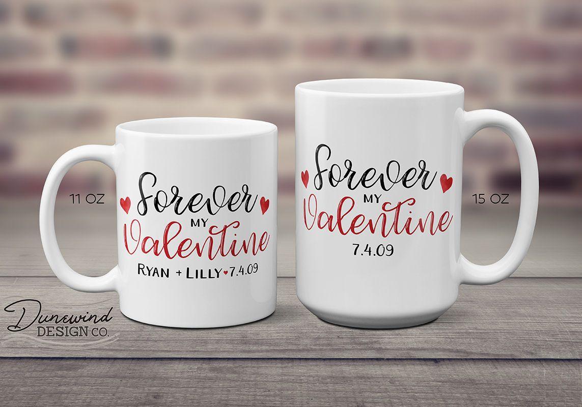 Valentine Coffee Mug, Valentine's Day Gift, Custom