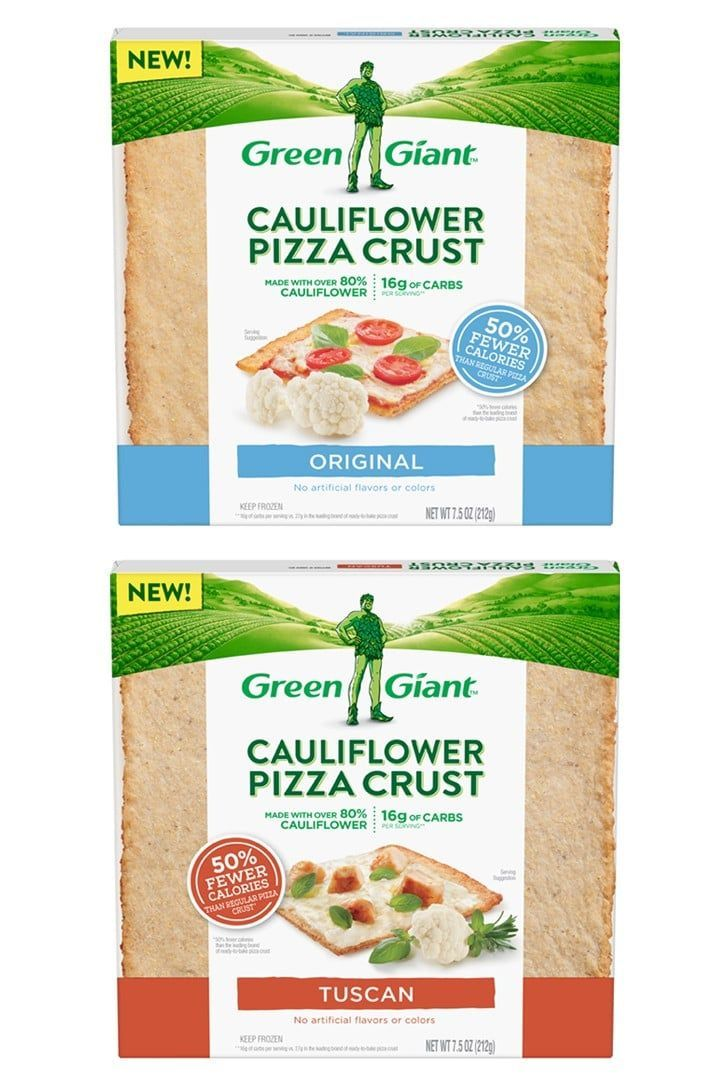 A New Cauliflower Pizza Crust Just Hit Grocery Stores  and Its SquareShaped  Keto