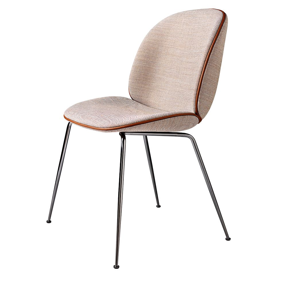 The Inspiration Of The Beetle Chair Was Found In The Insect World As Gamfratesi Looked Closely At The Anatomy And Movement Of The Beetle Chair Chair Upholstered Dining Chairs