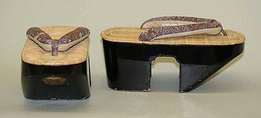 Shoes (Geta), first half 20th century