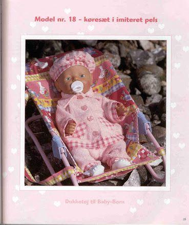 dukketøj til baby born ingelise