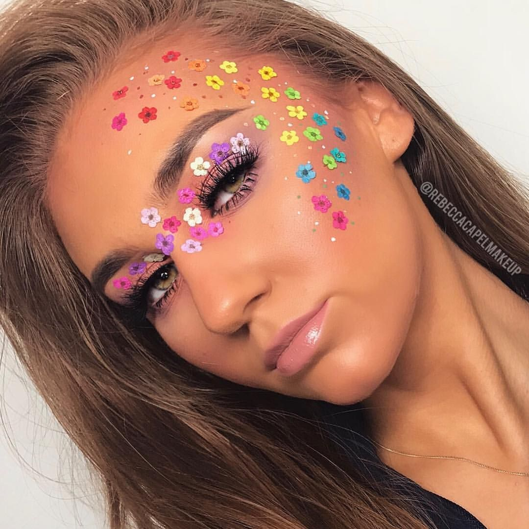 "Rebecca Capel Makeup on Instagram ""🌸🌼DAY 13 FLOWER"