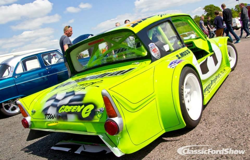 Pin By David Harpur On Saloon Sports Racers Ford Anglia Old