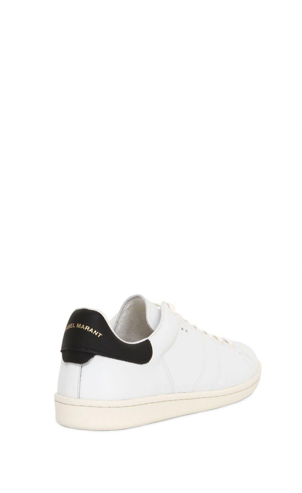 550d1d443d Isabel Marant Etoile Bart Leather Sneakers Black - Isabel Marant ...