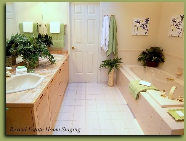 Blah Turned Spa A Home Staging