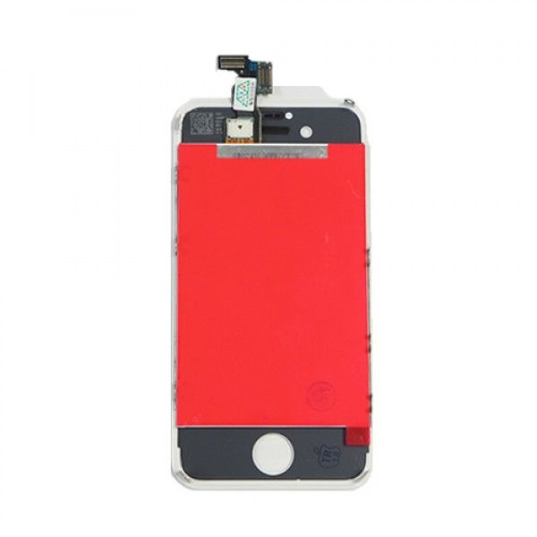 iPhone 4 LCD screen replacement and Touch Screen Digitizer Assembly - White