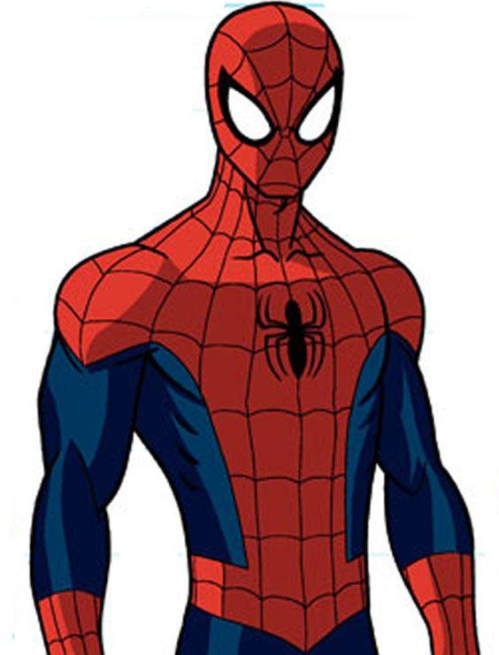 Великобританией, как нарисовать картинку человека паука