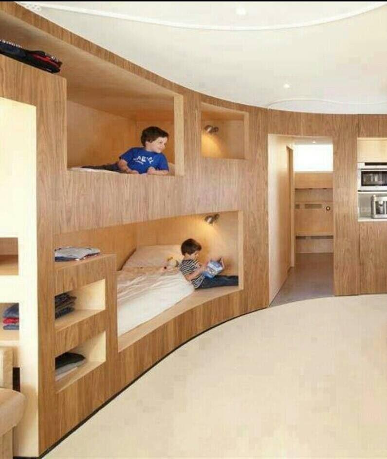 Original dise o cuarto ni os manualidas del dia - Muebles para cuartos de ninos ...