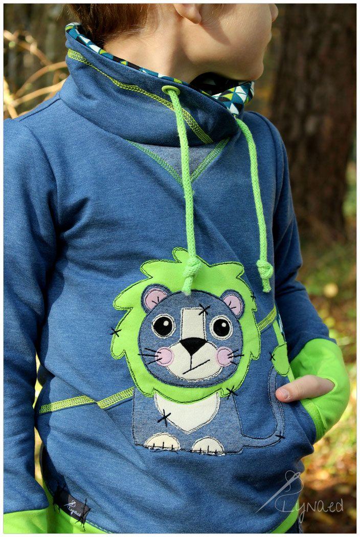 Leo Löwe - Blog   Nähen   Pinterest   Pullover nähen, Löwin und ...